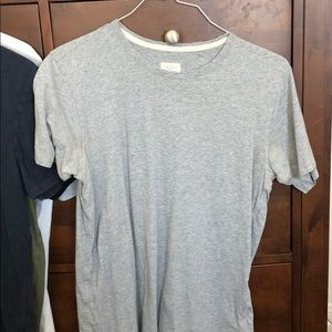 Rag Bone Grey Pima Cotton Tee